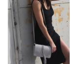 Street Level Tassel Faux Leather Crossbody Bag