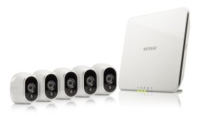Arlo Security System - 5 Wire-Free HD Cameras, Indoor/Outdoor, Night Vision