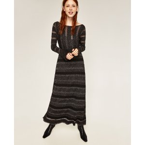 SHIMMER DRESS - DRESSES-WOMAN-SALE | ZARA United States