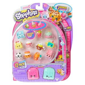 Shopkins Season 5 Collect & Connect Backpacks Play Set | Claire's