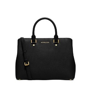 Saffiano Leather Satchel Bag | Lord & Taylor