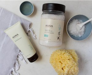Free Full Size Gift + Free Shipping on Orders over $75 @AHAVA