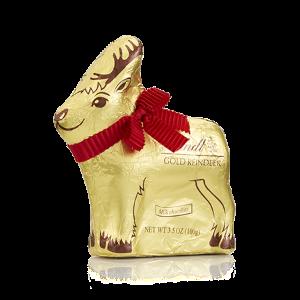 Milk Reindeer Holiday Chocolate Figure