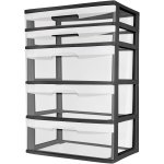 Sterilite 5 Drawer Wide Tower