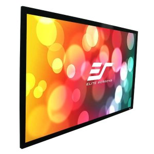 Elite Screens Sable Frame B2 Series, 135-inch Diagonal 16:9, Fixed Frame Home Theater Projection Projector Screen