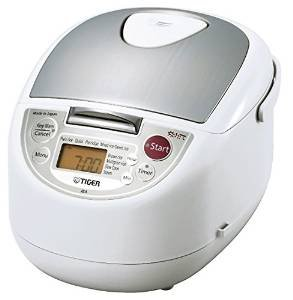 Tiger JBA-T18U-WU 10-Cup (Uncooked) Micom Rice Cooker with Food Steamer & Slow Cooker