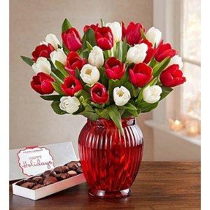 Holiday Tulips | 1800Flowers.com - 104377