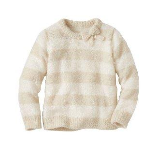 Girls Fuzzy Soft Sweater