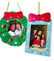 送圣诞相框装饰Lowe's 儿童手工作坊活动