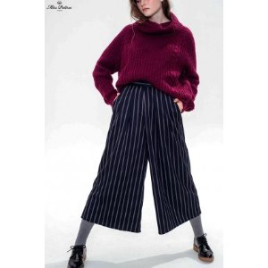 Collegiate Trousers (Pinstripe) - Miss Patina - Vintage Inspired Fashion
