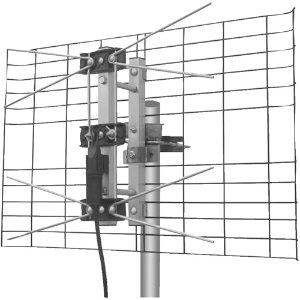 Eagle Aspen DTV2BUHF DirecTV-Approved 2-Bay UHF Outdoor Antenna