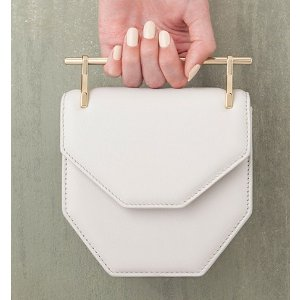 M2Malletier Mini Amor Fati Leather Shoulder Bag
