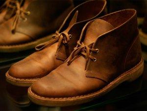 Clarks Bushacre 2 Chukka Boots Tan