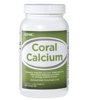 2 For $19 or 3 For $27GNC Coral Calcium 180 Capsules