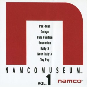 Namco Museum Vol. 1 (PSOne Classic) on PS3, PS Vita