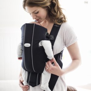 BABYBJORN Baby Carrier Original, Black, Cotton