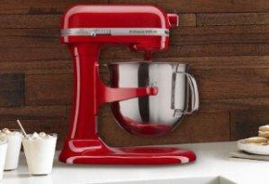KitchenAid KSM6573CER 6-Qt. Professional 6000 HD Bowl-Lift Stand Mixer, Empire Red