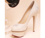 Charlotte Olympia Bejewelled Dolly Natural Linen - 6pm.com