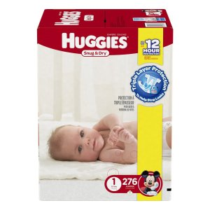 Extra 20% Off Prime Member Only! Huggies Diapers Sale @ Amazon