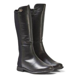 Stuart Weitzman Black Tall Leather Boots | AlexandAlexa