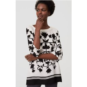 Shadow Floral Blouse