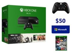 $299 Xbox One Rainbow Six Siege Bundle (1TB) (1 Free select game+ extra Wireless Controller+$20 Design Lab)