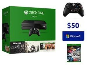 $299 Xbox One Rainbow Six Siege Bundle (1TB) (1 Free select game+ extra Wireless Controller+$20 Design Lab)