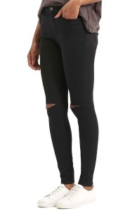 Topshop Moto 'Leigh' Ripped Skinny Jeans