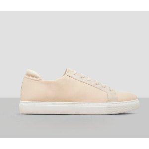 Kam Neoprene and Leather Sneaker   Kenneth Cole