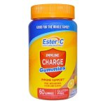 Ester-C Vitamin C, Immune Charge Gummies , 60 Count