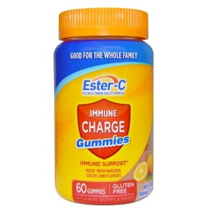 $1.51 Ester-C Vitamin C, Immune Charge Gummies , 60 Count