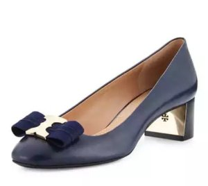 Last Day!Up to $100 Off Tory Burch Gemini Bow Leather Flat & Pump @ Neiman Marcus