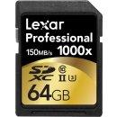 $58.5 Lexar Professional 1000x 64GB SDXC UHS-II Card - 2 Pack