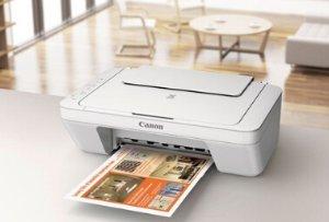 $18.99 (原价$34.99) 包邮免税Canon Pixma MG2522彩色喷墨打印一体机