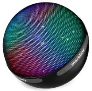 15% off Marsboy 7 Color Bluetooth LED Speaker