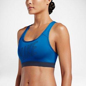 Nike Pro Classic Padded Logo Women's Sports Bra.