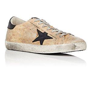 Golden Goose Men's Superstar Leather Sneakers | Barneys New York