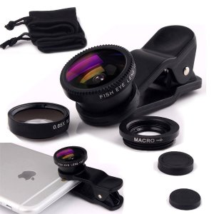 Luxsure Universal 3 in 1 Camera Lens Kit