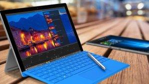 $999.99(原价$1329.99)!网络星期一,Microsoft Surface Pro 4 平板电脑(Core i5/8GB/256GB版) + Type Cover套装