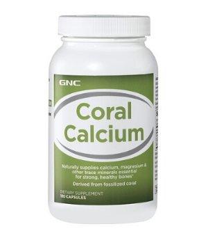 $8.99GNC Coral Calcium 180 Capsules