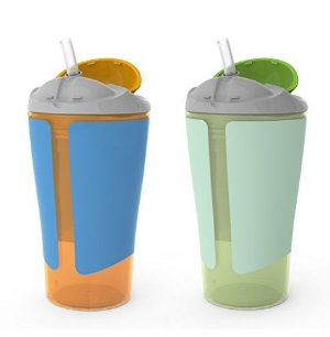 Born Free BPA-Free Grow with Me 10 oz. Straw Cup, 2 Count