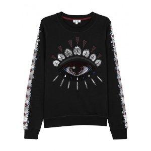 Kenzo Nagai Eye appliquéd sweatshirt