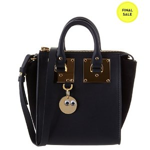 Sophie Hulme Holmes Small North South Leather Crossbody