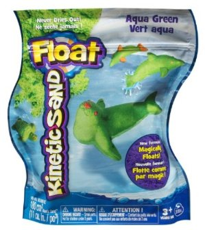 Kinetic Sand Float, 1 lb, Green