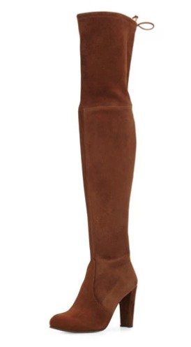 Stuart Weitzman Highland Suede Over-The-Knee Boot @ Neiman Marcus