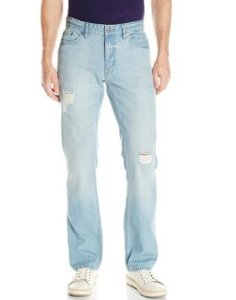 From $14.2 Calvin Klein Jeans Men's Slim Straight-Fit Jean In Destructed Blue