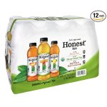HONEST Tea, Brewed Organic Tea Variety Pack, 16.9 fl oz (Pack of 12)
