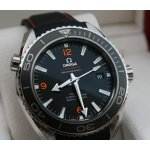OMEGA Seamaster Planet Ocean Automatic Black Dial Stainless Steel Men's Watch