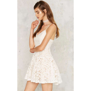 Crash the Party Lace Mini Dress