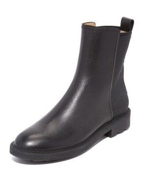 $344.99(原价$575)Salvatore Ferragamo Fazio 女士黑色踝靴